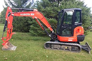 Excavator For Gravel Driveways