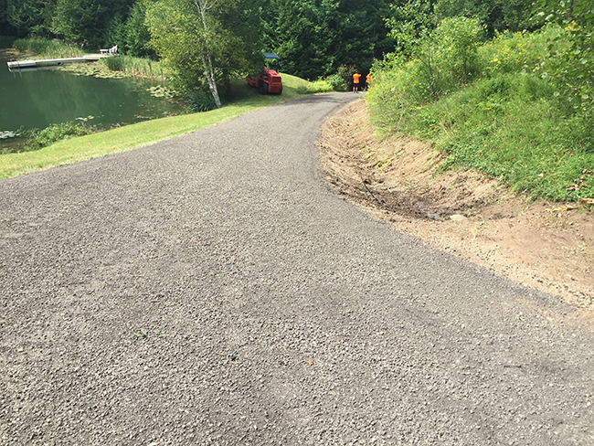 Gravel Driveway Services Newmarket - Loyd